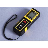 Buy cheap Yellow Small Laser Distance Metre Accuracy 40m Handheld Laser Distance Measurer product