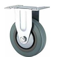 Buy cheap Rigid grey rubber caster product