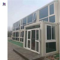 China 2018 new design sandwich panel house prefab houses mobile house container homes on sale