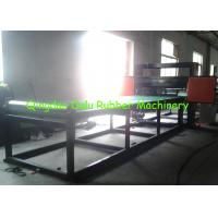 China PLC control rubber pipe cutting machine to cut 1 - 12 pipes per time wholesale