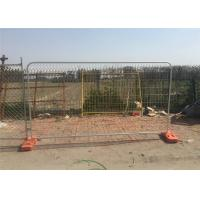 Buy cheap Hot Dipped Galvanized Temporary Fence 2m x 3m Mesh 50mm*100mm diameter 3.00mm product