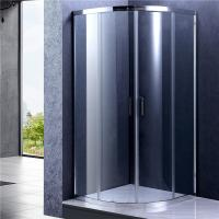 Buy cheap Chrome Frame Quad Sliding Shower Enclosure , Glass Bathroom Shower Door product