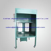 Small manual powder coating spray booth 102928468 for Powder coating paint booth
