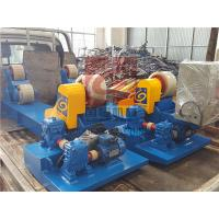 China Heavy Duty Pipe Rollers / Pipe Welding Rollers With PU Wheels , 10T Capacity wholesale