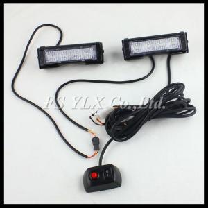 China 4W 4 LED Red Waterproof Car Truck SecurityEmergency Strobe Flash Light flash Strobe lights on sale