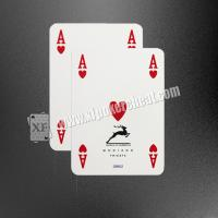 Buy cheap Italy Plastic ModianoGolden Trophy N1 Marked Poker Cards 63x88 mm product