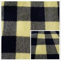Buy cheap 100% Polyester Plaid Printed Coral Fleece Fabric product