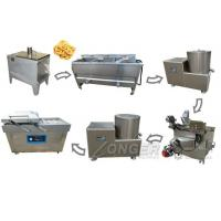 China Stainless Steel Automatic Plantain Chips Production Line For Sale on sale