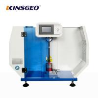 Buy cheap 135kg Charpy Izod Imapct Rubber Testing Machine with One Year Warranty from wholesalers