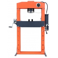 Buy cheap 125 Psi Air Pressure 50 Ton Hydraulic Forging Press With Gauge product