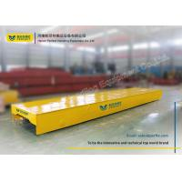 Buy cheap Motorized Rail Cart / Material Transfer Cart Steel Mill Applied Electric Transport Wagon product