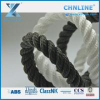 Buy cheap CHNLINE Black Color 3 Strand Polypropylene Multifilament Rope from wholesalers