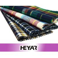 China China Wholesale Cheap Bulk 100% Combed Cotton Yarn Dyed Plaid Flannel Shirting Fabric and Textile with Construction on sale