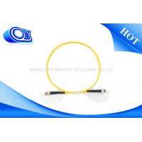 Quality Single Mode SC ST Patch Cord Simplex OM3 Fiber Optic Cable For Local Area Networks for sale