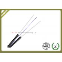 Buy cheap 1 / 2 / 4 Core Fiber Optic Drop Cable PVC Material Jacket  With Butterfly Flat Construction product