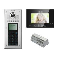 Buy cheap MS315C+MS703C Multi Apartment Video Intercom System,Codes Access&ID Card Access,Name List for Calling product