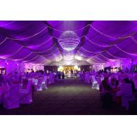 Buy cheap Wedding Tent with Beautiful Lights Show and Decoration Linging for Outdoor from wholesalers