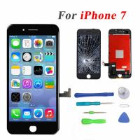 """Buy cheap Black Color Iphone LCD Touch Screen , 4.7"""" Iphone 7 LCD Touch Screen from wholesalers"""