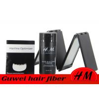 China Refillable Synthetic Hair Fibers , 28g Hair Loss Fibres To Cover Bald Spots wholesale