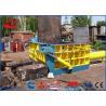 Buy cheap High Capacity Scrap Metal Cutting Machine Hydraulic Metal Compactor 37kw Motor from wholesalers