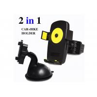 Buy cheap 2 In 1 Sets Vehicle Cell Phone Holder , Multi-Function Universal Car Bike Holder product