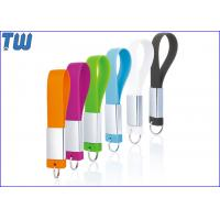Buy cheap Strap Design 8GB USB Drive ECO-friend Silicone Material Brand Printing product