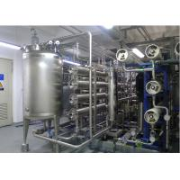 Buy cheap URS Reverse omosis EDI Water Treatment with distribution loop Pasteurized disinfects 15m3/h product