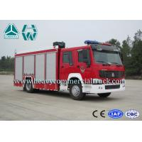 Buy cheap 266Hp 4X2 Fire Fighting Vehicles / Fire Department Ladder Truck from wholesalers