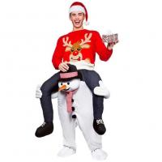 Buy cheap Lléveme paseo del transporte por ferrocarril de la mascota en los trajes de la mascota del muñeco de nieve de la novedad para la Navidad product