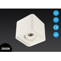 Buy cheap Modern Design Surface Mount LED Lights 7W 5 Inch Adjustable Square COB LED Downlight product