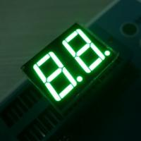 Buy cheap Low Voltage 2 Digits 7 Segment LED Display Various Colours Enviromental from wholesalers