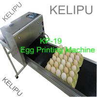 The Whole Pallet Egg Printing Machine , Industrial Inkjet Printer For Eggs