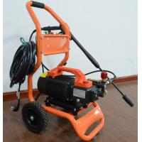 China 120V / 240V Induction motor Commercial grade high pressure washer for hand carry or cart push with crankshaft pump on sale