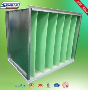 Buy cheap Промышленным воздушный фильтр клетки рамки в очистителя воздуха гальванизированный фильтром вторичный from wholesalers