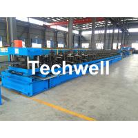 China 1.5-2.0mm Perforated Cable Tray Roll Forming Machine for Making CT600X90 / 500X90 / 300X90 Cable Tray Profiles on sale