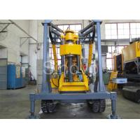 Buy cheap Yellow Spindle Crawler Core Drilling Rig , Drilling Diameter 75 - 800mm product