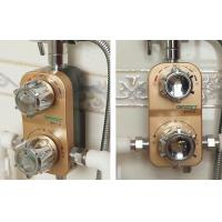 Buy cheap Solar Bath Thermostatic Mixing Valve Removable Washable Zinc Alloy Custom Logo product