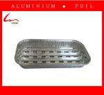 Elegant Embossed Square Aluminum Foil Grill