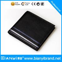 Man leather wallet of wallet men with genuine leather wallet