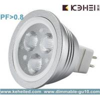 China 3w MR16 LED Bulbs with Lextar 3030 led chip 80lm/w chip on sale