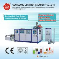 China Plastic thermoforming machine for cups or containers with max forming depth 170mm S7125D on sale