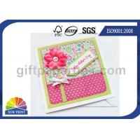 Buy cheap Professional Mothers' Day Greeting Cards Printing Service / Festival Greeting Cards Printing product