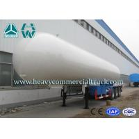 Buy cheap Longlife Pressure Vessel LPG Semi Trailer Reliable Structure Anti - Corrosion Coating product