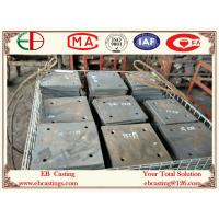 Buy cheap ZG60Cr5Mo Martensite Cr-Mo Alloy Steel Plates HRC50 Material Handling for Cement Industry product