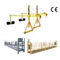 China High Working Suspended Platform Cradle Scaffold Systems Building Cleaning on sale