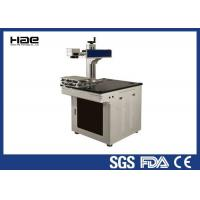 Buy cheap Portable metal Fiber 20W CO2 Laser Marking Machine for Carbon steel stainless electronic component product