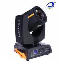 China Sharpy Beam Moving Head Light 5R DJ Moving Head Lights For Stage Lighting on sale