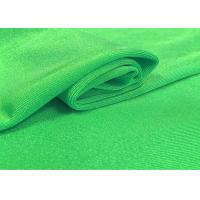 Buy cheap 97 % R 3 % SP Polyester Spandex Fabric , Jacquard Knit Fabric 185 GSM Plain Dyed product