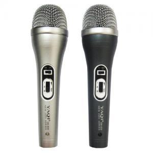 Buy cheap Deux dans un argent et des microphones dynamiques noirs de fil réglés product