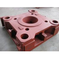 Buy cheap CNC Milling Resin sand casting ductile iron platen for plastic injection molding Machine product